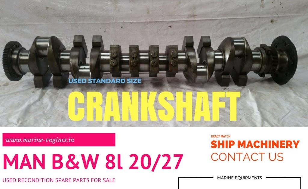 Crankshaft | MAN B&W 8L 20/27
