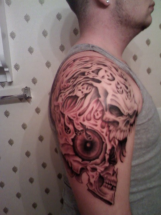 2nd Session Side View Tattoo Picture
