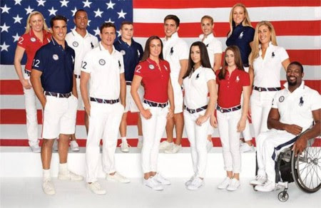 5. USA e1343828858629 Top 10 Best Olympic Uniforms 2012