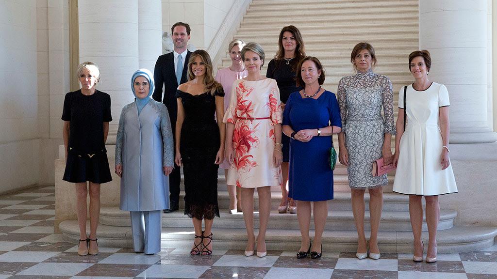 Αποτέλεσμα εικόνας για Melania and the other woman -G7- 2017