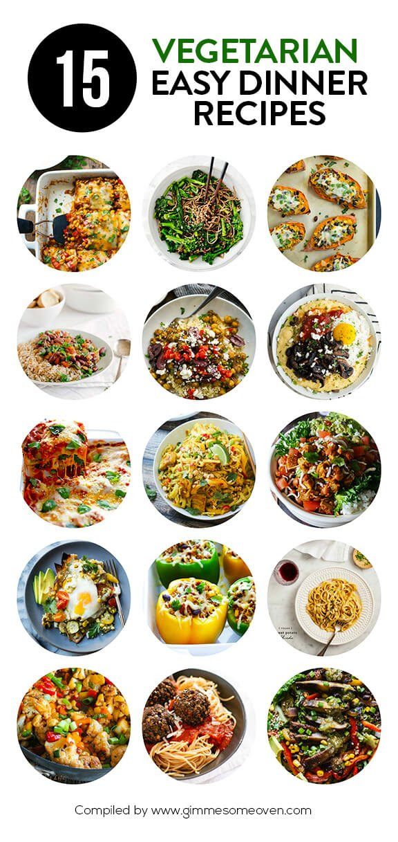 4 Vegetarian Dinner Recipes | Gimme Some Oven