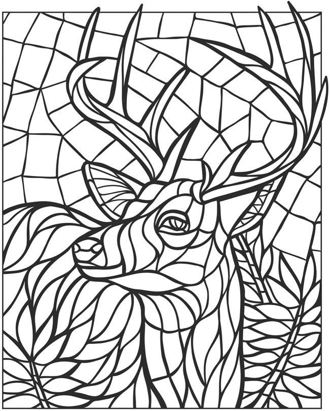 80 Top Mosaic Coloring Pages Animals , Free HD Download