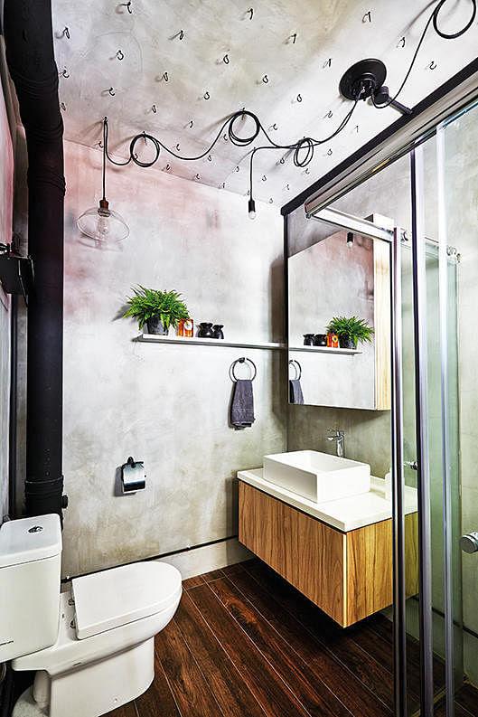 7 simple but modern HDB flat bathroom designs | Home ...