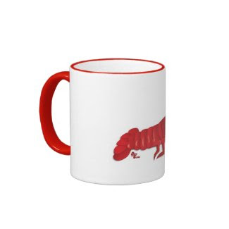Red Lobster Mug