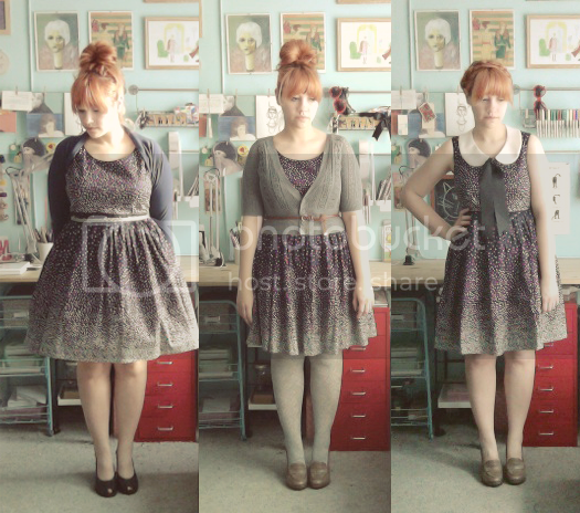scathingly brilliant wardrobe remix of the modcloth sprinkled with sweetness dress in navy