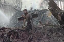 9/11 Twin Towers Cross