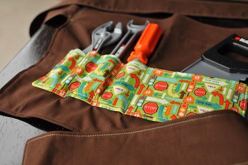 Child's tool belt apron