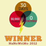 NaNoWriMo 2012--50,902 words