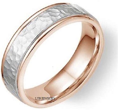 950 PLATINUM & 18K GOLD MENS WEDDING BAND RING 6MM   eBay