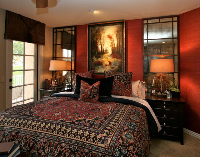 Bedrooms By Robeson Design - Traditional - Bedroom - san ...