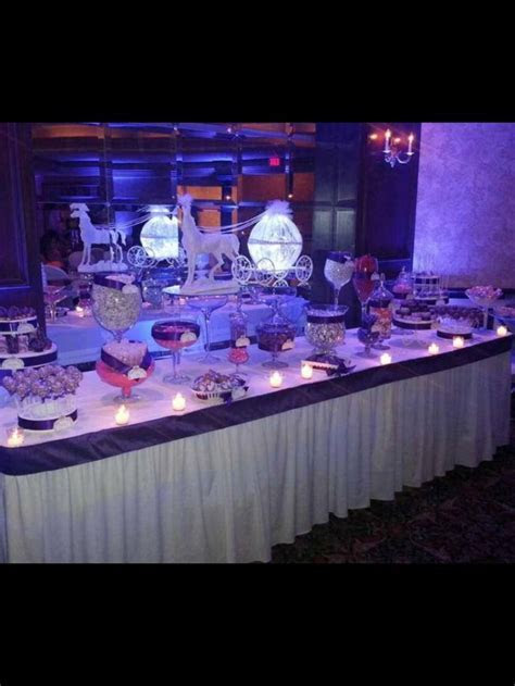 Cinderella Theme wedding  Happily ever after  Candy