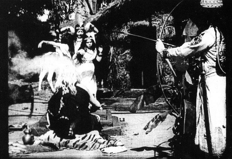 File:A scene from film, Raja Harishchandra (1913).jpg