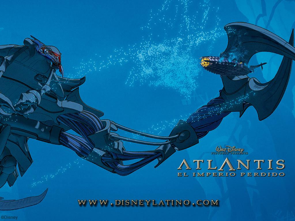 Atlantis The Lost Empire Wallpaper Atlantis Wallpaper 33469606