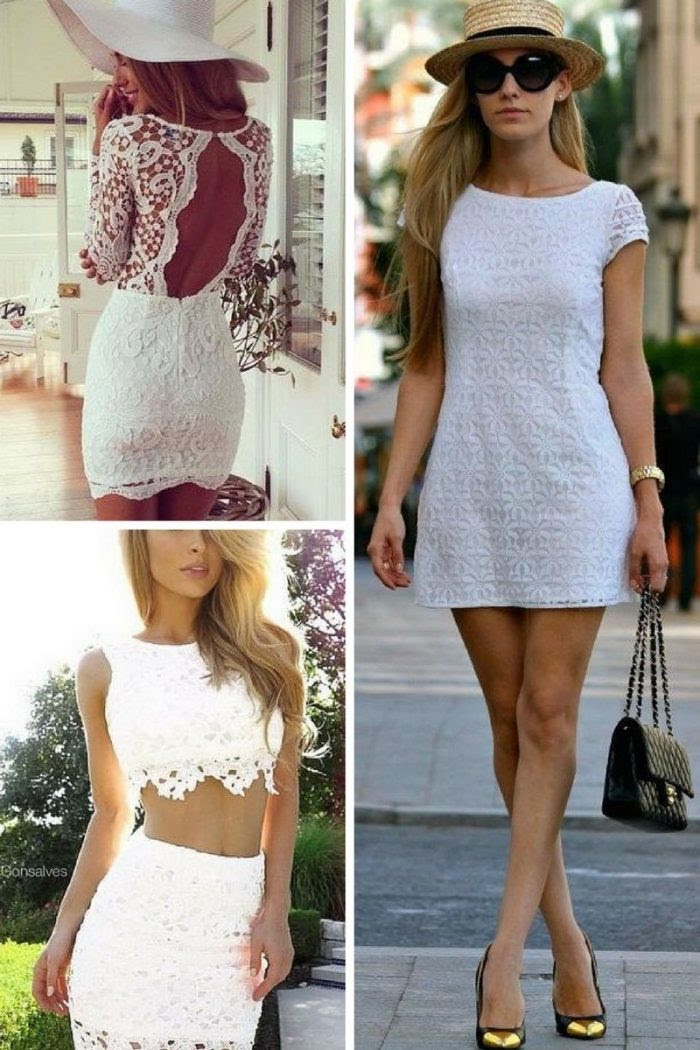little white dress for summer simple street looks 2020