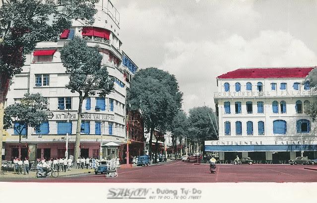 Tu Do Street - Continental Palace Hotel