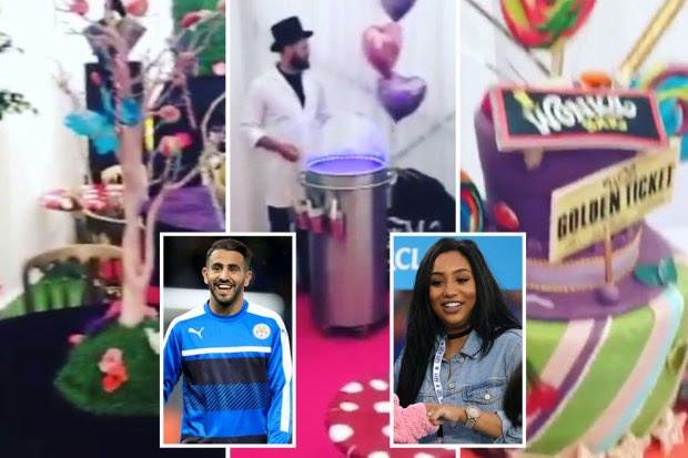 People : Mahrez et sa femme Rita fêtent le premier ...