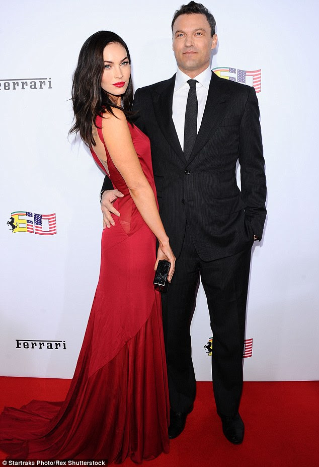 On their own?:Megan Fox and Brian Austin Green have reportedly separated after 11 years together, according to UsWeekly; here they are seen in October