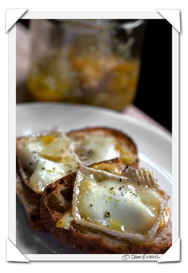 picture photograph image meyer lemon confit adante goat cheese and toast 2008 copyright of sam breach http://becksposhnosh.blogspot.com/
