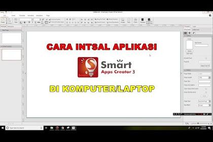 Cara Membuat Media Pembelajaran Berbasis Android dengan Smart App Creator (SAC) 3