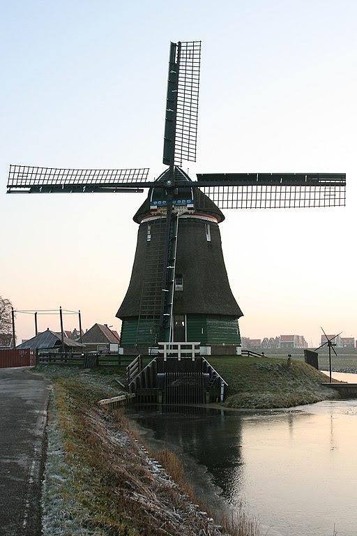 Katwoude - molen De Kathammer