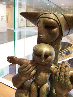 Ng Eng Teng's Madonna and Child II (1990)