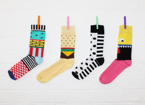 This is what you've been waiting for your whole life - Lazy Oaf's very own range of socks just in time for Christmas!