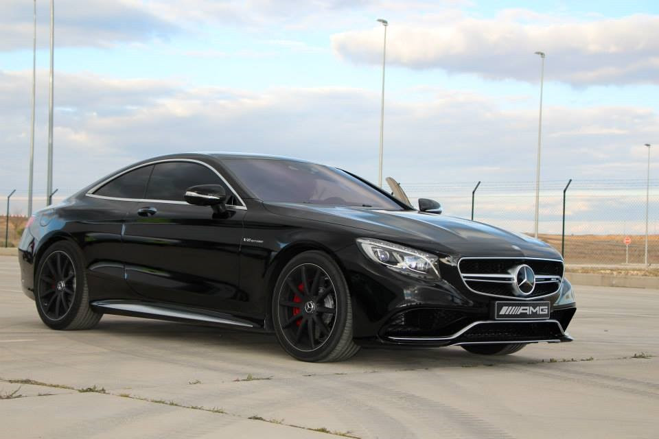 Stunning Black-on-Black Mercedes-Benz S 63 AMG Coupe ...