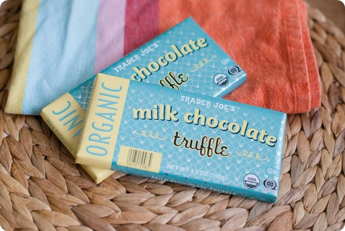 trader joe's milk chocolate truffle bar review