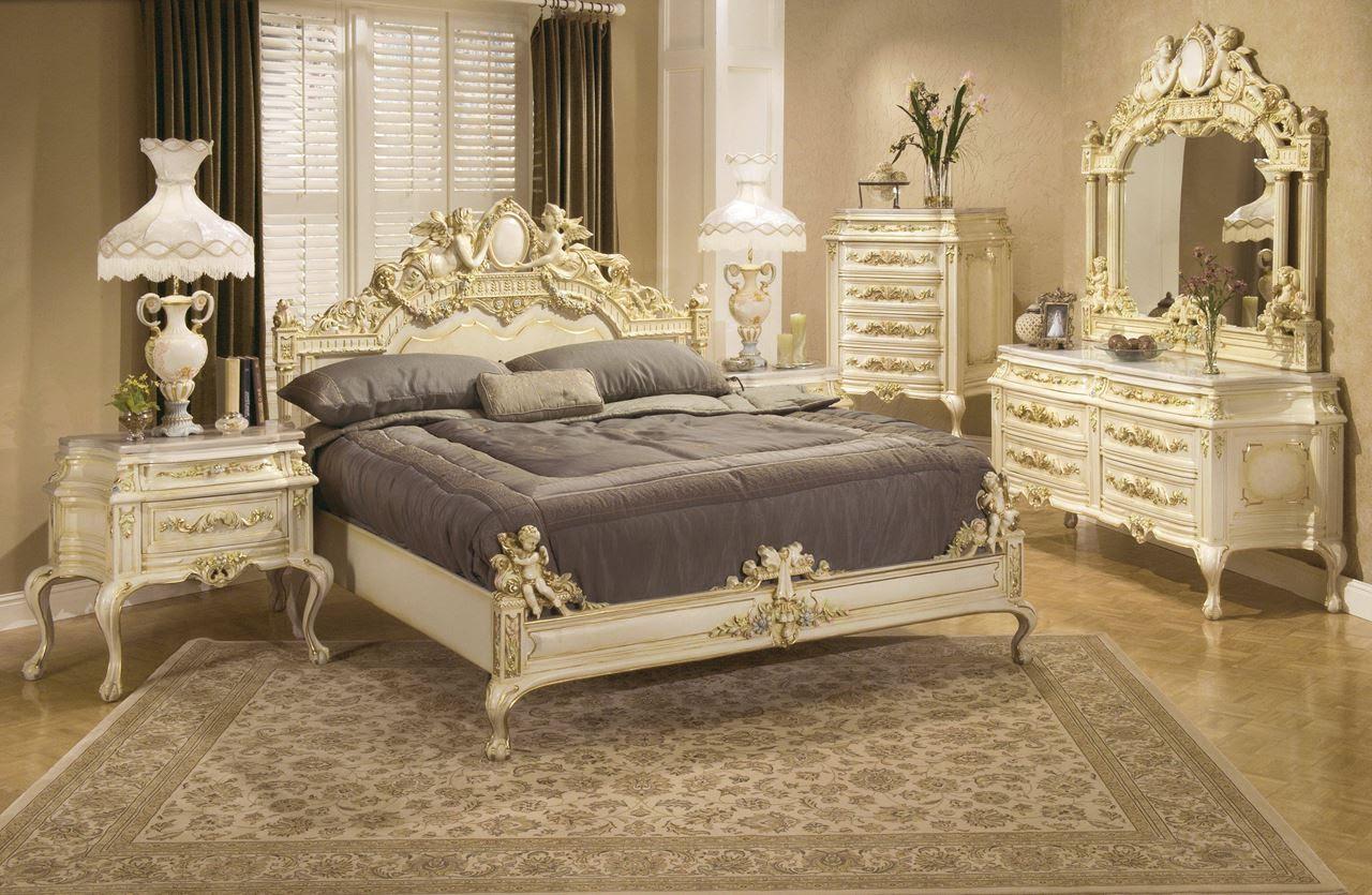 The Rococo Style Bedroom design Ideas