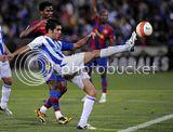 Recreativo vs barcelona, Recreativo-2;Barcelona-2