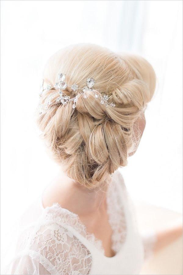 Wedding Hairstyles  Deer Pearl Flowers Part 3
