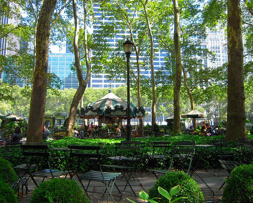Bryant Park by flickrnipper