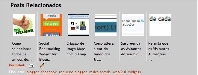 Posts Relacionados com Imagens Miniatura