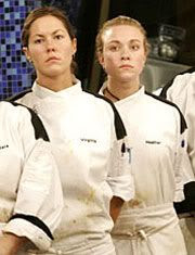 'Hell's Kitchen' finalists Virginia and Heather