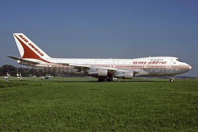 Air India Boeing 747-237B VT-EFU (msn 21829) ZRH (Rolf Wallner). Image: 912742.
