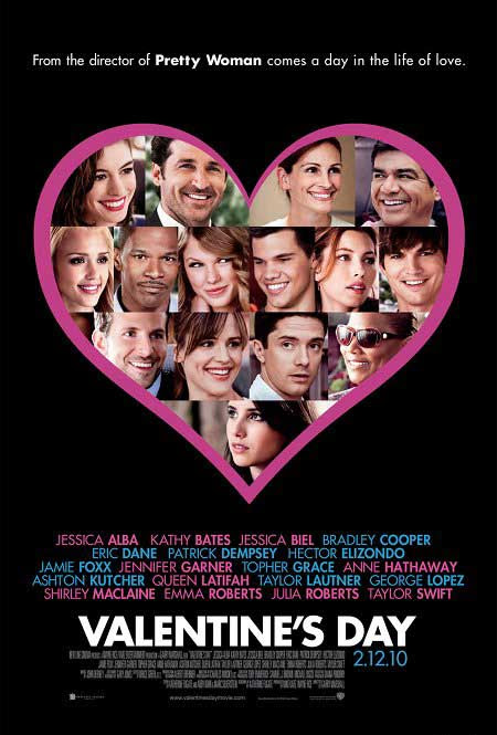 Historias de San Valentin cartel