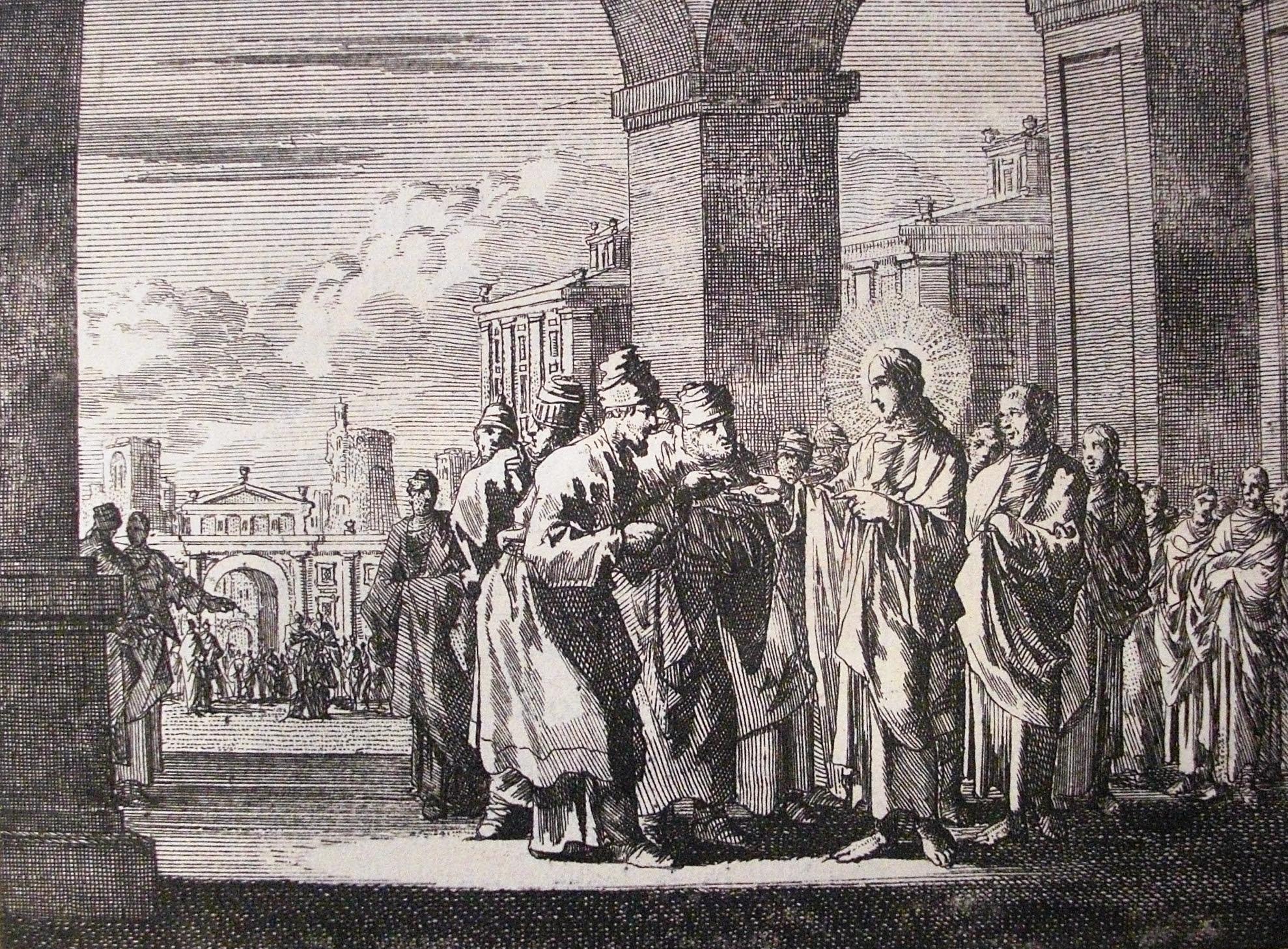 Jesus disputes the Pharasees