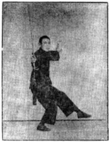 《昆吾劍譜》 李凌霄 (1935) - posture 64