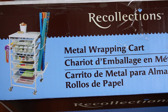 Wrapping Cart label