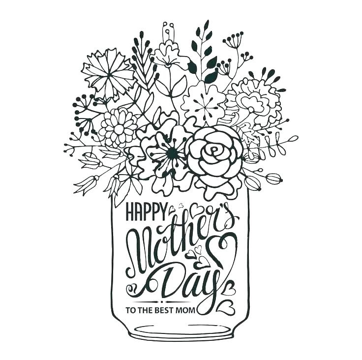 Mothers Day Coloring Pages Grandma Coloring Pages Kids 2019