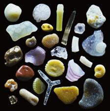 Sand grains under the microscope microscopic sand photography art photo microscopy artwork