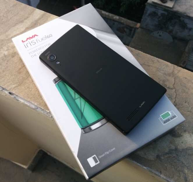 Lava Iris Fuel 60 review: Budget phone with big battery