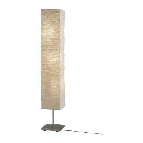 Paper Lantern Floor Lamps on Orgel Vreten Floor Lamp Ikea Shade Of Handmade Paper  Each Shade Is