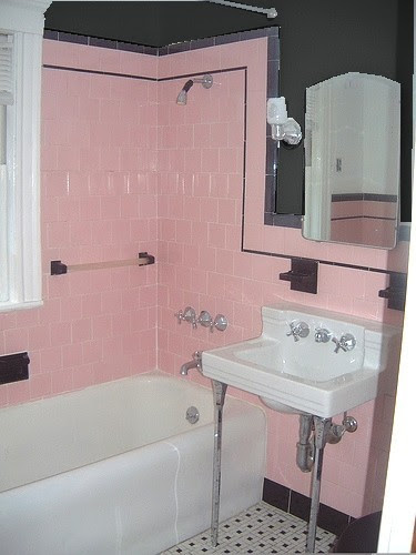 What is the best paint color to minimize muted pink tile in our ...