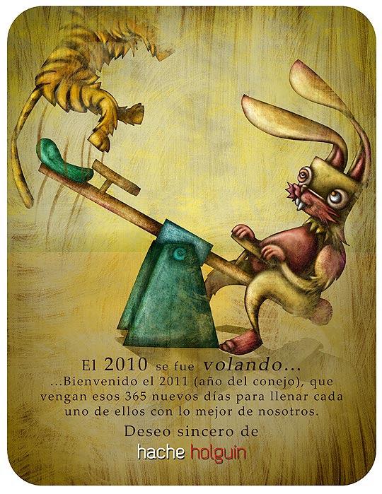 Ilustración, el 2010 se fue volando.