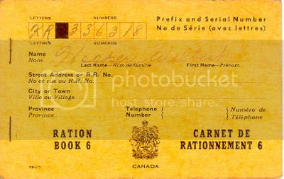 Chronically Vintage: A look back at the Canadian ration
