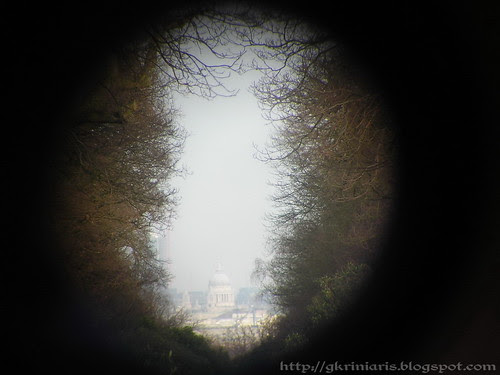 View of St Paul's cathedral from Richmond Park
