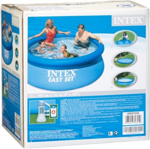 intex pool komplett set intex 56972gs pool set easy set mit pumpe 244 x 76 cm. Black Bedroom Furniture Sets. Home Design Ideas