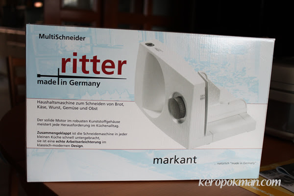 My prize - ritter slicer