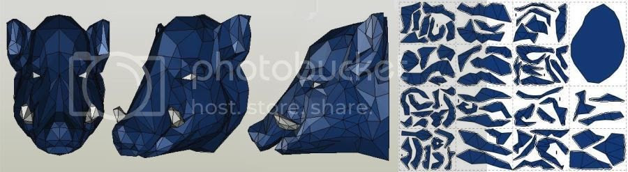 photo boar head papercraft by gedelgo via papermau 03_zpslyudefwd.jpg